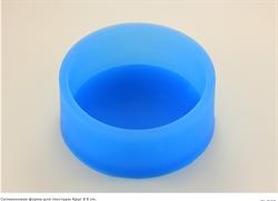 Круг d 8см  для текстуры силиконовая форма - фото 5080