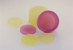 Круг d 4см  для штампа силиконовая форма - фото 5081