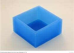 Квадрат 6*6см  для текстуры силиконовая форма - фото 5083