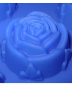 Розочки mini D 40мм (1 шт.) силиконовая форма - фото 5289