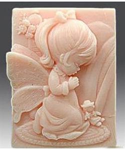 Ангел 80 2D силиконовая форма - фото 5537