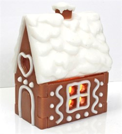 Пряничный домик форма пластиковая - фото 7131