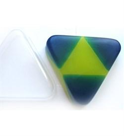 Треугольник форма пластиковая - фото 7205