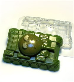 Танк2 форма пластиковая - фото 7369