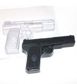 ВСЁ ДЛЯ МЫЛОВАРА - Пистолет форма пластиковая