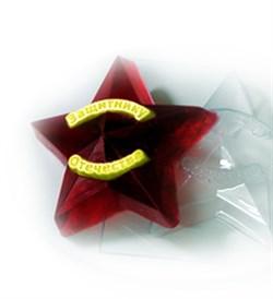 Звезда защитнику форма пластиковая - фото 7393