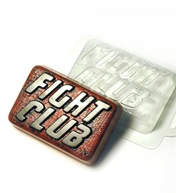 Бойцовский клуб форма пластиковая - фото 7405