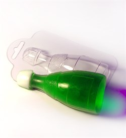 Шампанское форма пластиковая - фото 7423