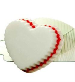 Сердечко Волнистое форма пластиковая - фото 7545