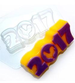 2017 Силуэт петуха форма пластиковая - фото 8118