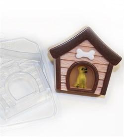 Собачья будка форма пластиковая - фото 8473