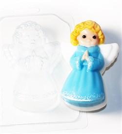 Ангелочек форма пластиковая - фото 8536