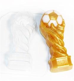 Кубок футбольный форма пластиковая - фото 8547
