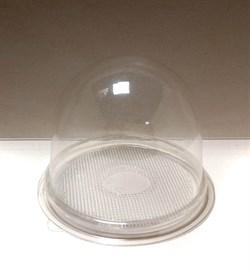 Купол ПЭТ с прозрачным дном 11*8см - фото 8826
