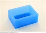 Прямоугольник 7,5*5,5см  для текстуры силиконовая форма