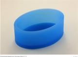 Овал 9*6см  для текстуры силиконовая форма