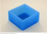 Квадрат 6*6см  для текстуры силиконовая форма