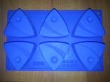 Треугольники (лист 6шт.) силиконовая форма