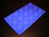 Хризантемки mini D 40мм (лист 15шт.) силиконовая форма