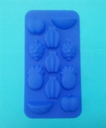 Фруктики mini (лист 11шт.) силиконовая форма