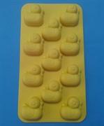 Утята mini (лист 11шт.) силиконовая форма