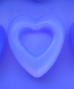 Сердечки двойные (1 шт.) силиконовая форма