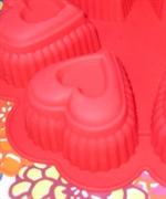 Сердечки maxi (1шт.) силиконовая форма