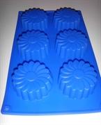 Ромашка (лист 6шт.) силиконовая форма
