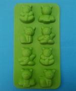 Мишки mini (лист 8шт.) силиконовая форма