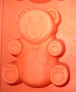 Медвежонок 7*9см (1шт.) силиконовая форма