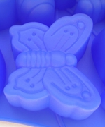 Бабочка (1шт.) насекомые силиконовая форма