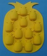 Ананас mini (лист 12шт.) силиконовая форма