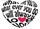 Любовное сердце Штамп