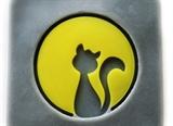 Лунный кот Штамп