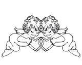 Ангелочки Штамп