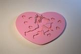 Текстурный вкладыш Сердце05 8*5,5см