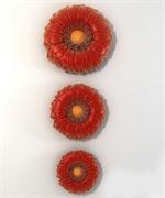 Гербера набор 3 шт 2D силиконовая форма