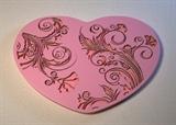 Текстурный вкладыш Сердце03 8*5,5см