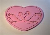 Текстурный вкладыш Сердце02 8*5,5см