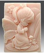 Ангел 80 2D силиконовая форма