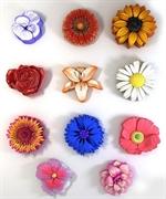 Набор цветов 11 шт 2D силиконовая форма