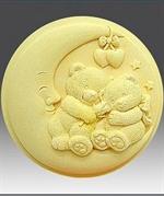 Мишки 3 2D силиконовая форма