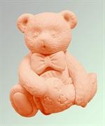 Мишка 2D силиконовая форма