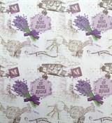 Бумага упаковочная с рисунком 50*70см