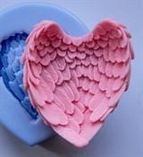 Крылья 3D силиконовая форма