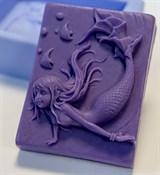 Русалочка 2D силиконовая форма