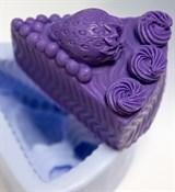 Клубничный пирог 2D силиконовая форма