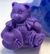Мишка2 2D силиконовая форма