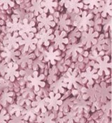 Посыпки Снежинки розовые 10г