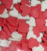 Посыпки Сердечки красно-белые 10г